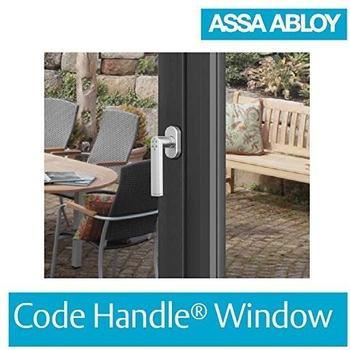 Assa Abloy Code Handle Window matt verchromt
