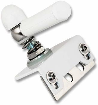 AMG Alarmtechnik Fensterriegel mechanisch weiß