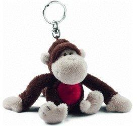 NICI Bean Bag Schlüsselanhänger Affe Lou 10 cm