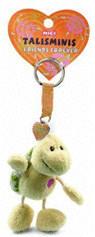 NICI Talisminis Schlüsselanhänger Schildkröte neutral 7 cm