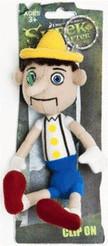 Joy Toy Pinocchio Plüschschlüsselanhänger 12 cm
