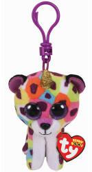 Ty Giselle Leopard W/Horn - Boo key Clip (35229)
