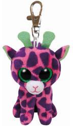 Ty Beanie Boos Clip - Gilbert, Giraffe pink/lila 8.5cm (7135011)