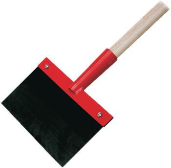 WerkzeugHERO Stoßscharre 15cm mit Stiel (55089)
