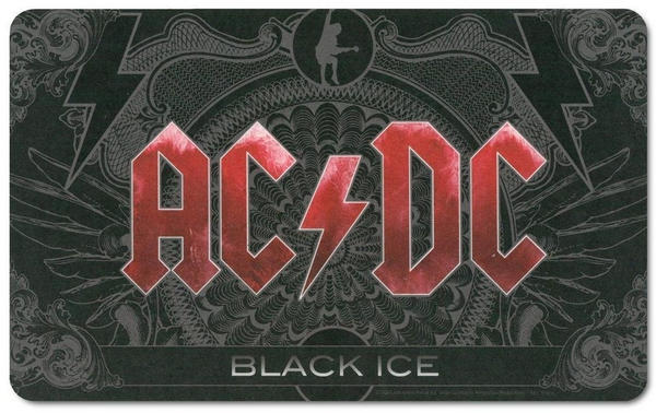 Logoshirt Frühstücksbrettchen mit AC/DC Album-Motiv bunt