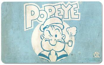 Logoshirt Frühstücksbrettchen mit Popeye-Motiv bunt