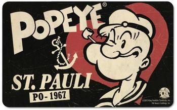 logoshirt-fruehstuecksbrettchen-mit-popeye-motiv-schwarz