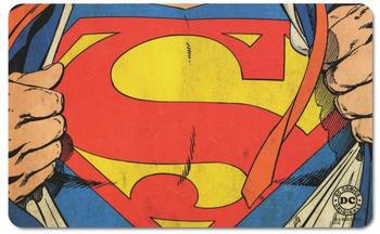 logoshirt-fruehstuecksbrettchen-mit-coolem-superman-logo-bunt