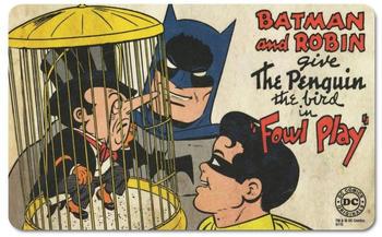 Logoshirt Frühstücksbrettchen mit coolem Batman And Robin-Motiv bunt