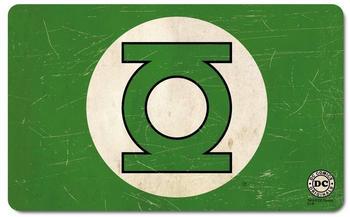 logoshirt-fruehstuecksbrettchen-mit-green-lantern-logo-gruen