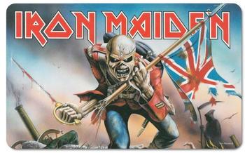 Logoshirt Frühstücksbrettchen mit Iron Maiden Motiv bunt
