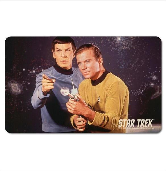 Logoshirt Frühstücksbrettchen mit Star Trek-Motiv bunt