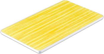 WACA Frühstücksbrett Bistro gelb L 24,8 x B 14,9 cm