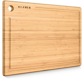 KLAMER Bambus Schneidebrett (45x30x2cm)