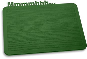 koziol-fruehstuecksbrett-happy-board-mmmmhhh-24-7-cm-forest-green