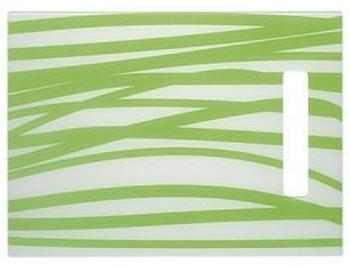 Schock Glasschneidebrett weiß-grün (629075/1)