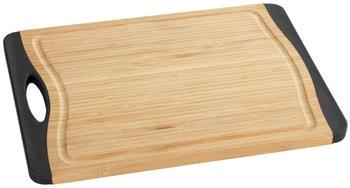Wenko Schneidebrett Bambus Anti-Rutsch M+, 33 x 23 cm