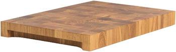 NXT Board Stirnholz Schneidebrett Eiche 52,5 x 35 x 5,5 cm