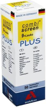 Analyticon Combi Screen 9+leuko Plus Teststreifen (50 Stk.)