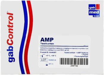 Gabmed Drogentest Amphetamin Testkarte
