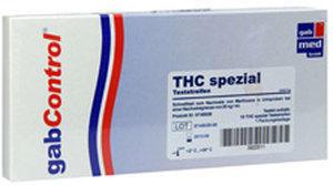 Gabmed Drogentest Thc 20 Spezial Teststreifen (10 Stk.)