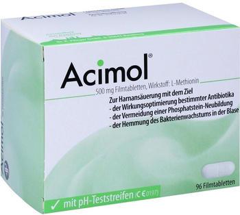 Dr. Pfleger Acimol mit Ph Teststreifen Filmtabletten (96 Stk.)
