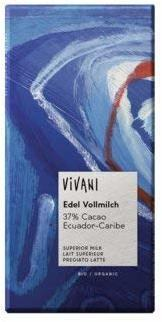 Vivani Edel Vollmilch Ecuador (100 g)