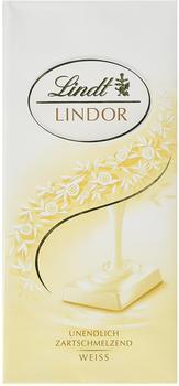 Lindt Lindor Schokolade weiß (100 g)