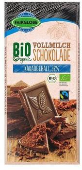 Bio Organic Vollmilch Schokolade (100g)