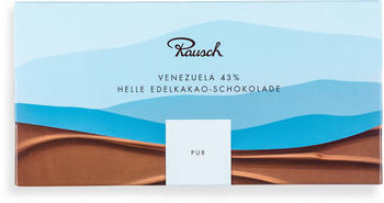 Rausch Venezuela Helle Edelkakao-Schokolade pur (125g)