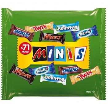 Mars Mixed Minis Schokoriegel 71er (1,425kg)