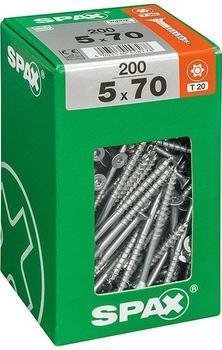 Spax T-Star 5 x 70mm 200 Stk. (763031790)