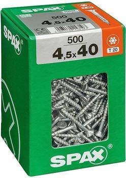 Spax T-Star 4,5 x 40mm 500 Stk. (763031711)