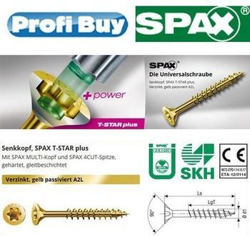 Spax T-Star 6 x 100mm 100 Stk. (763031813)