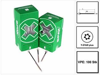 Spax Torx 6x180 Tellerkopf WIROX 100 Stk. (0251010601805)