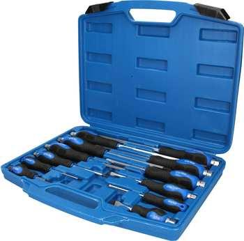 Brilliant Tools Schraubendrehersatz mit Schlagkappe 12-tlg.