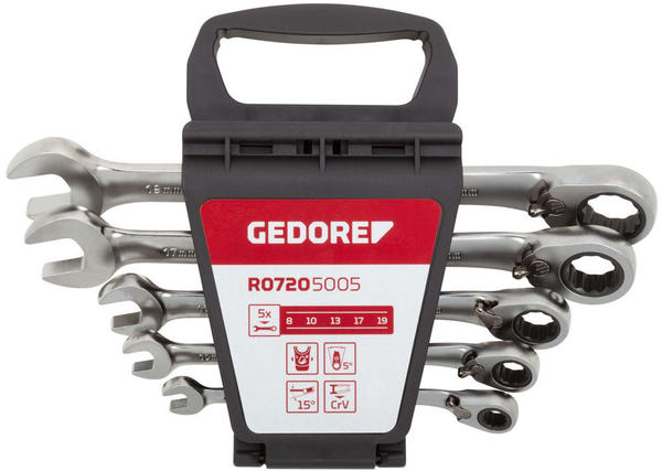 Gedore Red R07105005 5-teilig