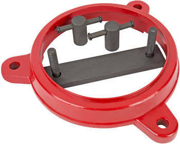 STIER Drehteller für Parallelschraubstock Größe 100, Drehung um 360 Grad (903051)