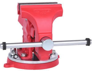 KS Tools Schraubstock mit Rundteller, 100 mm (914.0025)