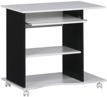 Maja Computertisch (4024) schwarz/weiß