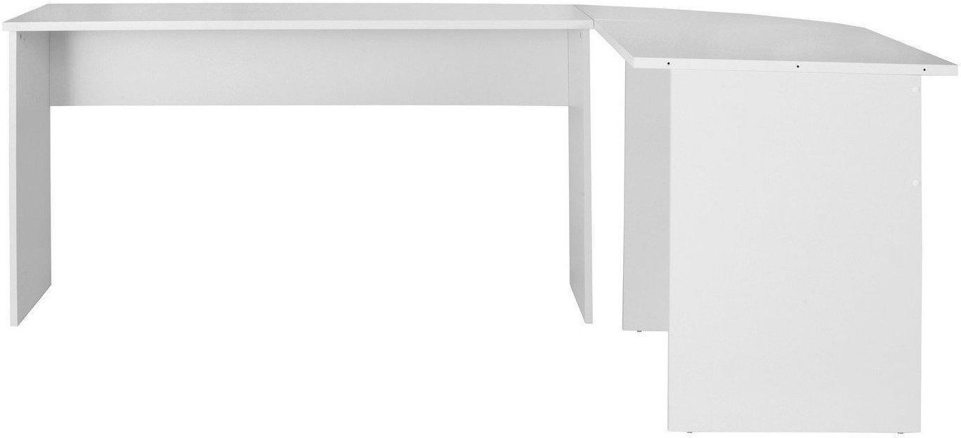 Fmd Winkel Schreibtisch Till Weiß Ab 11049 Günstig Im