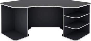 Homexperts Tron 198x85cm grau/weiß