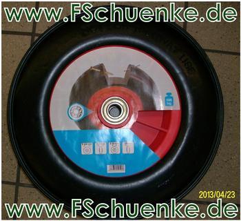 Dörner + Helmer pannensicheres Schubkarrenrad 400x100mm