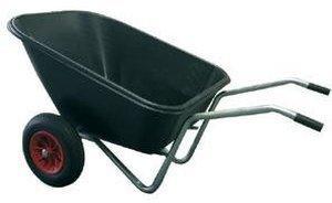 Rewwer-Tec Kunststoffmuldenkarre 160 Liter
