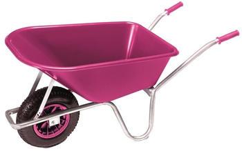 pro-bau-tec Gartenschubkarre 100 l pink