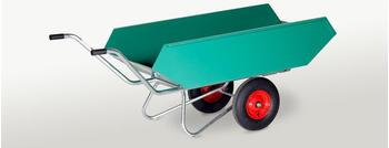 Schwarz Transportgeräte Kippkarre 450 Liter pulverbeschichtet