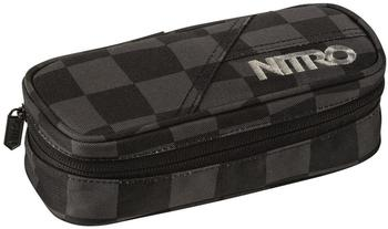 Nitro Pencil Case black checker
