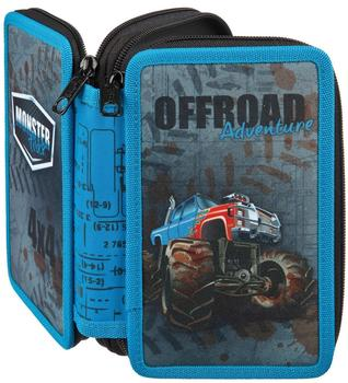 Undercover Double Decker Pencil Case Monster Truck (MTQJ0430)