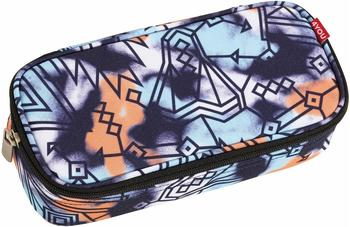 4YOU Pencil Case mit Geodreieck Graphic Spray