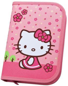 Undercover Hello Kitty 2-fach Federtasche Federmappe Doppeldecker gefüllt